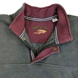 Orvis 1/4 Zip Pullover Sweatshirt